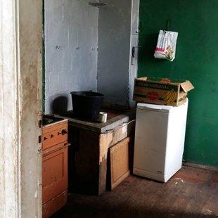 Virtuve pirms remonta...
