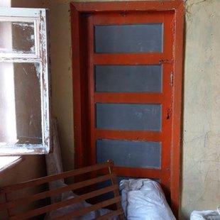 Bērnu istaba pirms pārbūves...